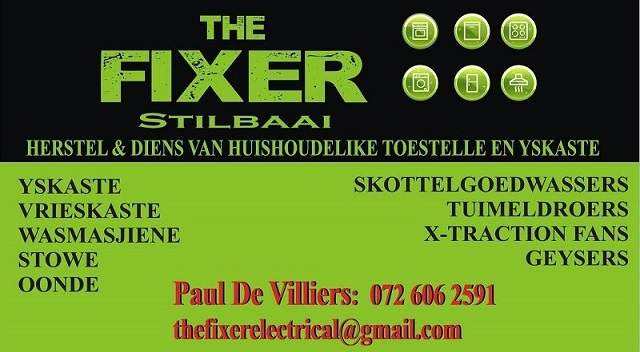 THe Fixer Electrical Stilbaai